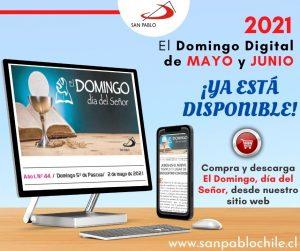 Encuentra los domingos de MAYO y JUNIO 2021 en formato digital