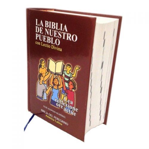 Biblia de Nuestro Pueblo con Lectio Divina - Tamaño bolsillo