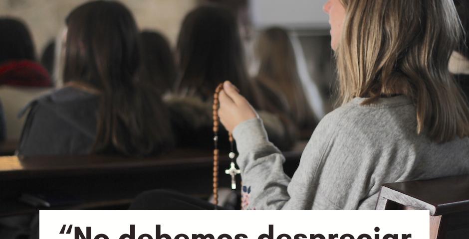 """CATEQUESIS DEL PAPA: """"No debemos despreciar la oración vocal"""""""