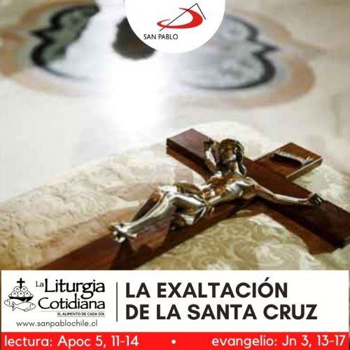 LITURGIA COTIDIANA 3 DE MAYO: LA EXALTACIÓN DE LA SANTA CRUZ (F). Rojo.