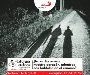 LITURGIA COTIDIANA 7 DE ABRIL: MIÉRCOLES DE LA OCTAVA DE PASCUA. Blanco.