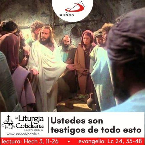 LITURGIA COTIDIANA 8 DE ABRIL: JUEVES DE LA OCTAVA DE PASCUA. Blanco.