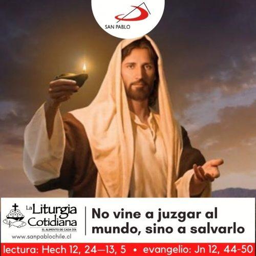 LITURGIA COTIDIANA 28 DE ABRIL: San Pedro Chanel, p. y mr. (ML). Blanco o Rojo. San Luis María Grignion de Montfort, p. (ML). Blanco.