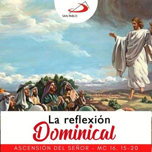 LA REFLEXIÓN DOMINICAL: 16 de mayo de 2021 (La Ascensión del Señor)