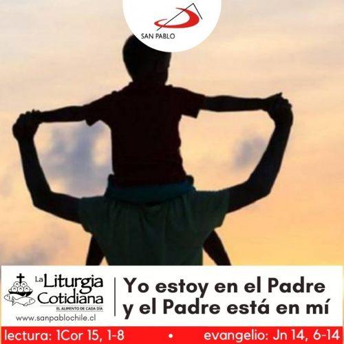 LITURGIA COTIDIANA 4 DE MAYO: SANTOS FELIPE Y SANTIAGO (F). Rojo.
