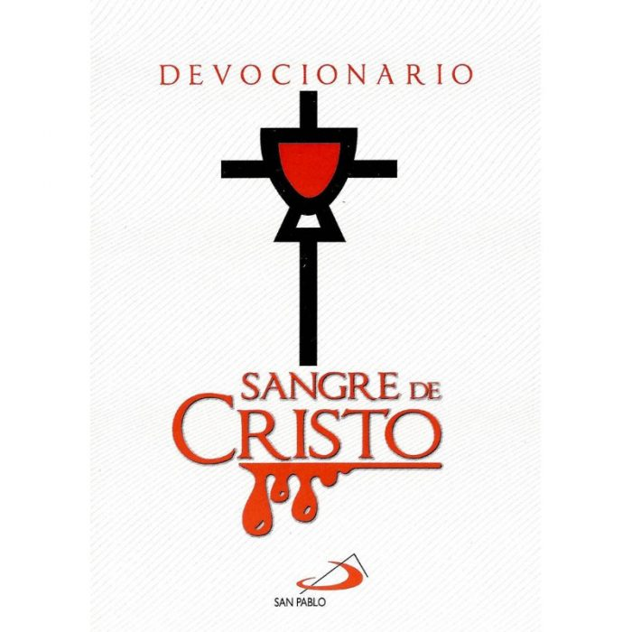 Devocionario sangre de Cristo