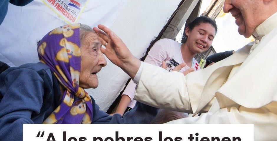 """""""A los pobres los tienen siempre con ustedes"""": mensaje del Papa para la V Jornada Mundial de los Pobres"""