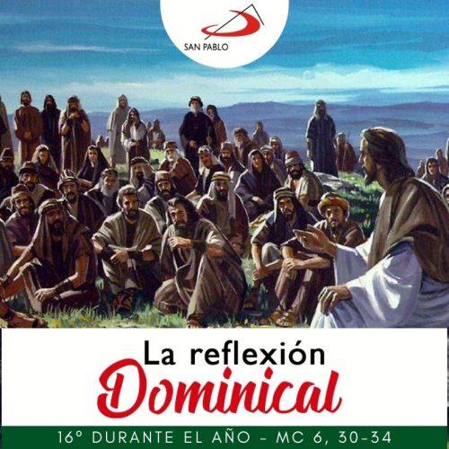 LA REFLEXIÓN DOMINICAL: 16° durante el año (18 de julio de 2021)