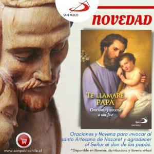 """NOVEDAD: """"Te llamaré papá"""", oraciones y novena a san José"""