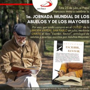 """Compra en el OUTLET de la Librería Virtual SAN PABLO y recibe gratis el libro """"Escribir, revivir"""""""