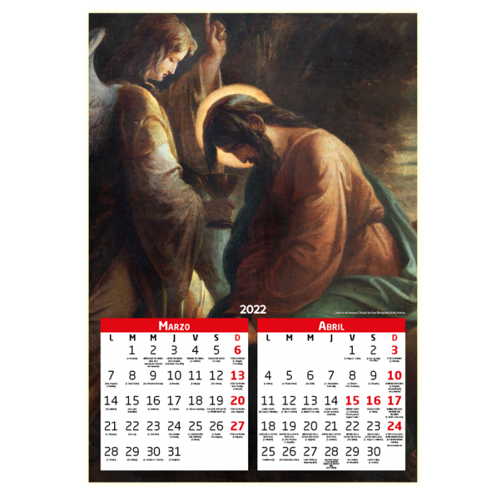 Calendario Católico 2022