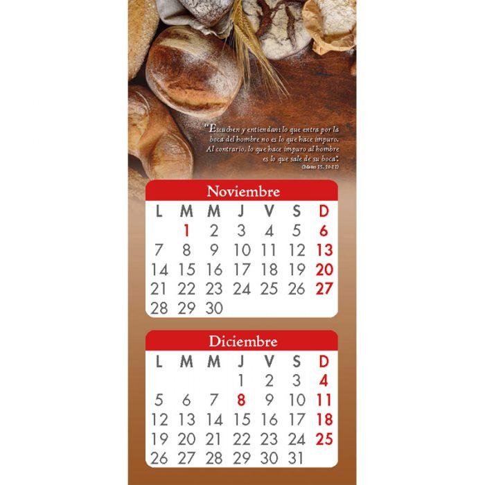 Calendario Pan de la Palabra 2022