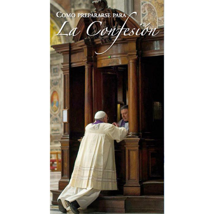 Folleto Como preparase par la Confesión