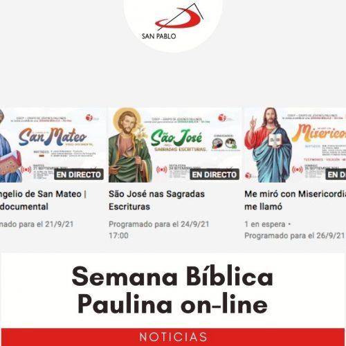 Semana Bíblica Paulina on-line