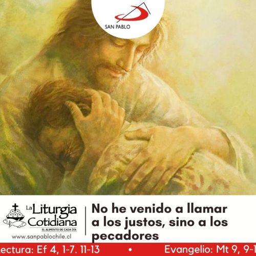 LITURGIA COTIDIANA 21 DE SEPTIEMBRE: SAN MATEO, ap. y ev. (F). Rojo.