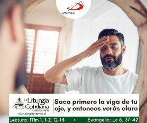 LITURGIA COTIDIANA 10 DE SEPTIEMBRE: De la feria. Verde.
