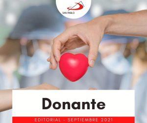 EDITORIAL: Donante