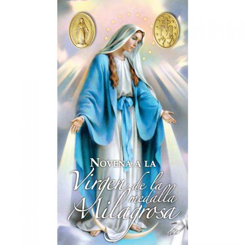 Folleto Novena Virgen de la Medalla Milagrosa