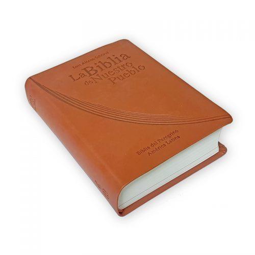 Biblia de Nuestro Pueblo - Piel Marron