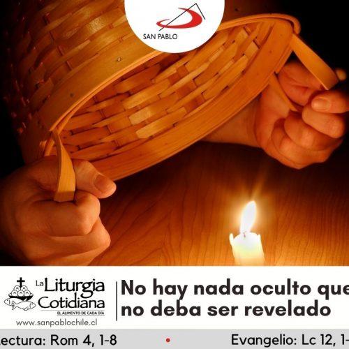 LITURGIA COTIDIANA 15 DE OCTUBRE: Santa Teresa de Jesús, v. y d. (MO). Blanco.
