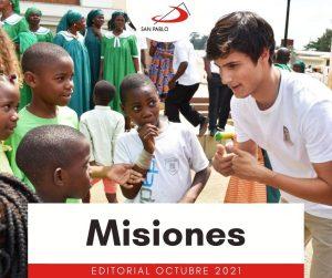 EDITORIAL OCTUBRE 2021: Misiones