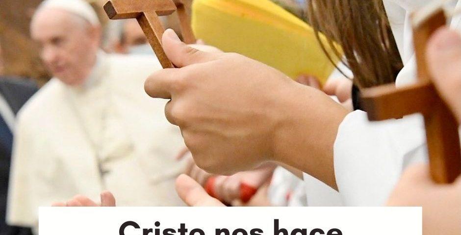 CATEQUESIS DEL PAPA: Cristo nos hace verdaderamente libres
