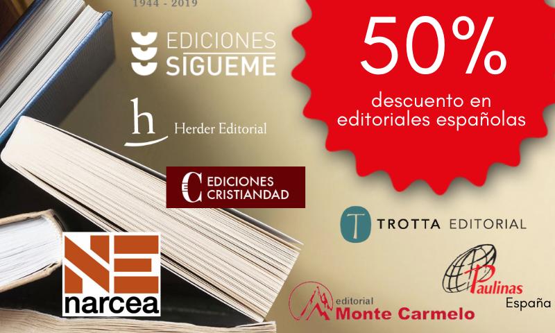 EN OCTUBRE: Encuentra en SAN PABLO descuentos en libros de editoriales españolas